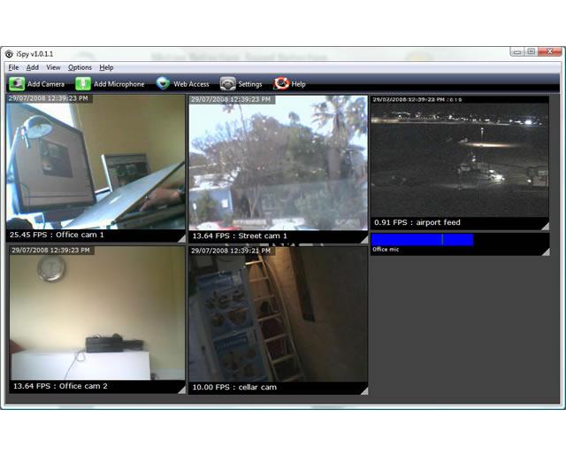 برنامج iSpy 3.7.8.0 اي سباي لمراقبة الكاميرات