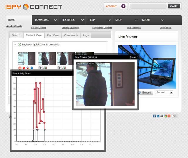 حصريا برنامج مراقبة المنازل والمكاتب ™ iSpy 4.1.7.0  5