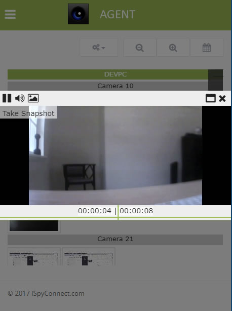 Instant recording playback